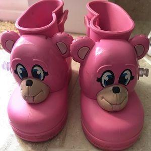 Jeremy Scott mini Melissa rain boot monkey